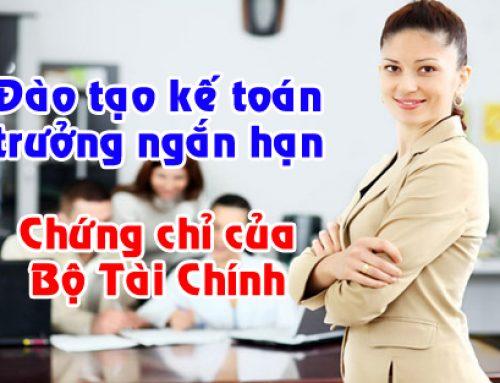 Thông báo khai giảng lớp Kế toán trưởng đơn vị Hành chính sự nghiệp