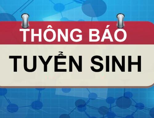 Thông báo chiêu sinh lớp văn bằng 2 Trung câp ngành CNTT